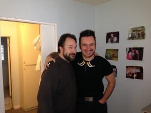 Dave Cox and Joaquin - Devil Beard meets Half-Beard.